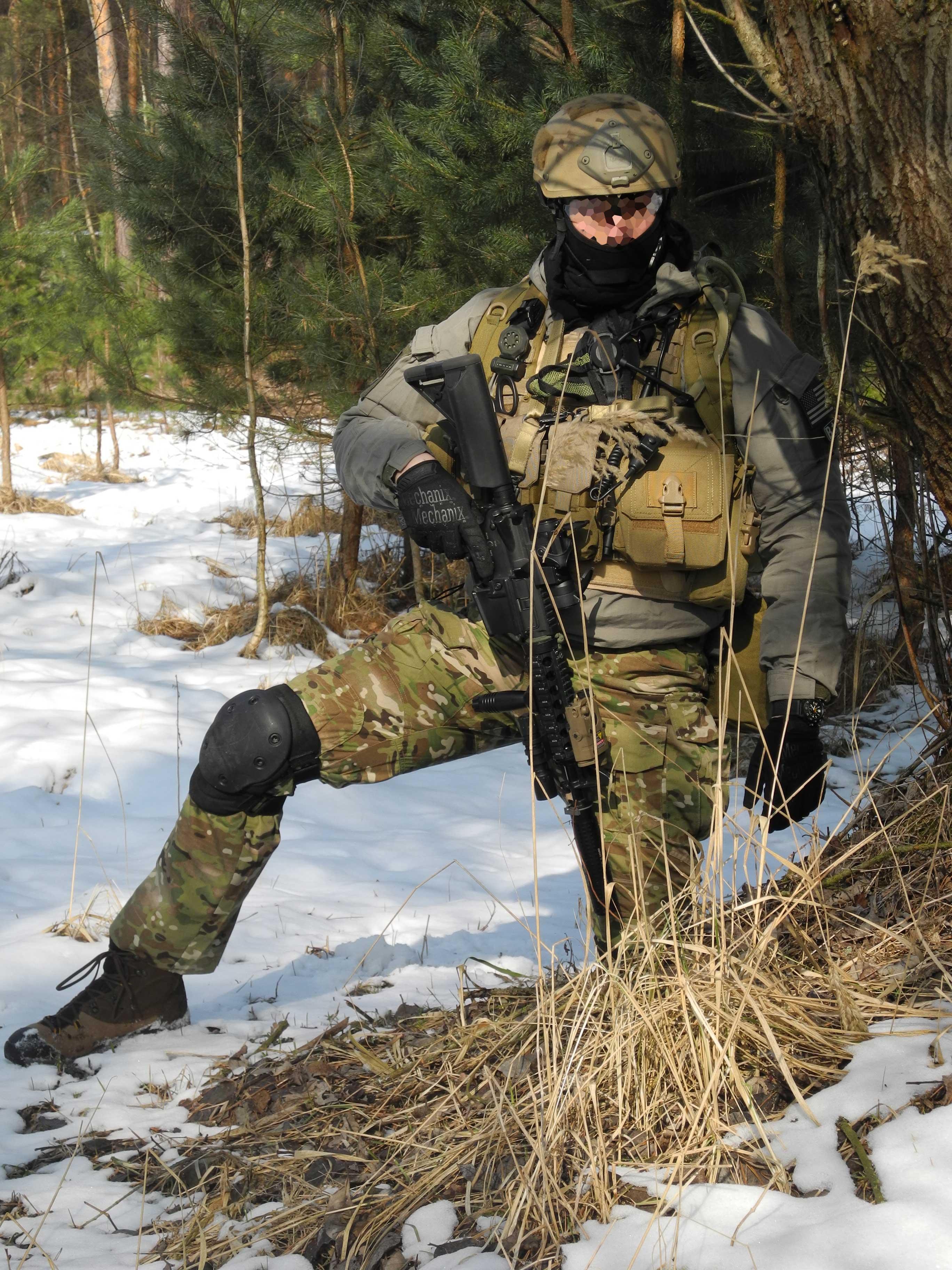 SO1 Sandos na patrole